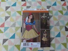 NEW Simplicity 1093 Andrea Schewe Steampunk Cosplay corset skirt top sizes 14-22