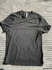Lululemon Running Gym Shirt - Men's Medium ~ Grey Yoga NEW