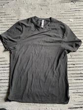 Lululemon Running Gym Shirt - Men's Medium ~ Grey Yoga NEW