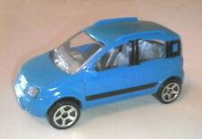 MAJORETTE COLLECTION 1:55 AUTO IN METALLO - FIAT PANDA 4x4 CELESTE  ART 286B