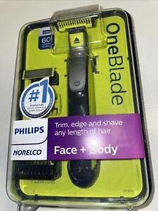 Philips Norelco OneBlade Face/Body hybrid electric trimmer and shaver/QP2630/70