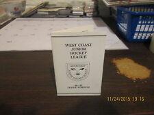 West Coast Junior Hockey League 86-87 League Schedule