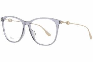 Christian Dior DiorSightO3 KB7 Eyeglasses Women's Grey Optical Frame 58mm