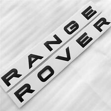 RANGE ROVER GLOSS BLACK BOOT BONNET LETTERING BADGE SPORT VOGUE EVOQUE L405 L494