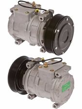 John Deere Tractor AC A/C Compressor With Clutch Replaces:Denso 10PA17C Type