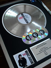 MICHAEL JACKSON BAD LP MULTI PLATINUM DISC RECORD AWARD ALBUM