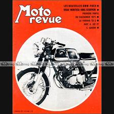 MOTO REVUE N°2009 BMW-PUCH 250 MONTESA 250 KING SCORPION YAMAHA 250 DT1 TD2 '71