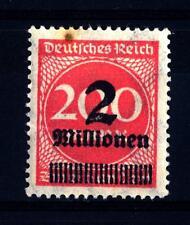 GERMANY - GERMANIA REICH - 1923 - Cifra in un ovale