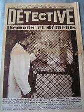 Détective 1932 215 SAINTE GENEVIèVE DES BOIS VILLEJUIF RELECQ KERHUON PERUWELZ