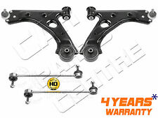 FOR VAUXHALL CORSA D FRONT WISHBONE CONTROL ARMS STABILISER HEAVY DUTY LINKS 06-
