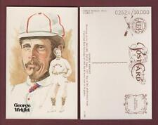 #12 George Wright, Boston Red Stockings ~ Perez-Steele Hall Of Fame Art Postcard