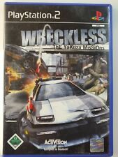 PlayStation PS2 GAME WRECKLESS YAKUZA, USED BUT GOOD