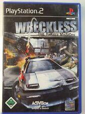 !!! PlayStation ps2 juego Wreckless yakuza, usados pero bien!!!