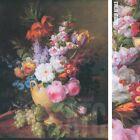 """37W""""x48H"""" VASE FLEURS CORNEILLE by VAN SPAENDONCK - VASE FRUIT FLOWERS CANVAS"""