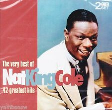 THE VERY BEST OF NAT KING COLE * 2 CD SET * NEW & SEALED CD