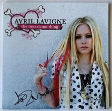 Avril Lavigne Signed The Best Damn Thing LP JSA #FF40524 Autograph Album Vinyl