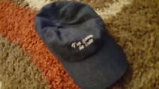 I'M GONNA BE LATE - the BASEBALL HAT CAP - blue AMERICAN EAGLE OUTFITTERS adjust