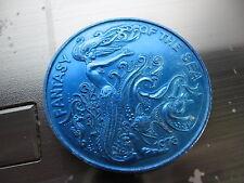 mermaid fantasy of sea mardi gras doubloon rare coin new orleans vintage