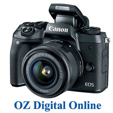 NEW Canon EOS M5 + 15-45mm Lens kit 24.2MP Wifi NFC Mirrorless Camera 1 Yr Wty