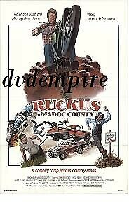 Ruckus in Madoc County DVD Dirk Benedict Brand New and Sealed Australian Release