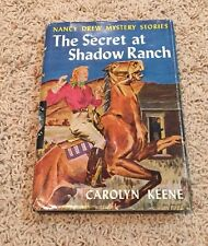 Nancy Drew Mystery Stories The Secret At Shadow Ranch 1931 #5 Carolyn Keene