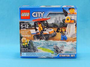 Lego City 60163 Coast Guard Starter Set 76pcs New Sealed 2017