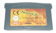 SHREK 2 CARTONE TV - NINTENDO DS Lite Game Boy Advance Gioco Bambini Bimbi