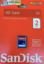 SanDisk SD 2GB Class 2 - SD Memory Card - SDSDB-2048-A11