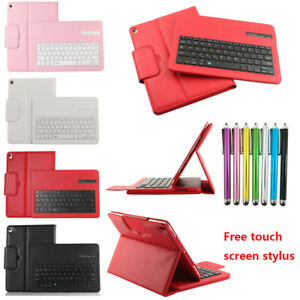For iPad Mini Wireless Bluetooth Keyboard Folio Leather Case Smart Stand Cover