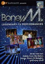 BONEY M LEGENDARY TV PERFORMANCES DVD ALL REGIONS NTSC NEW