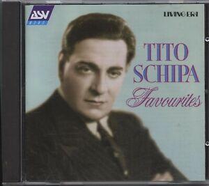 Tito Schipa - Favourites (CD Album)