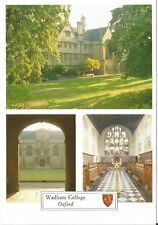 Wadham College Oxford Hall Main Gate Chapel postcard Chris Andrews 1991