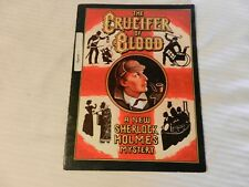 The Crucifer Of Blood Broadway Play Program Signed by Paxton Whitehead