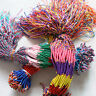 20/50/100/200 PCS Jewelry Lot Braid Strands Friendship Cords Handmade Bracelets