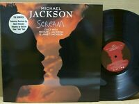 "Michael Jackson ‎- Scream - VINYL 12"" - 33 RPM - EPIC 1995"