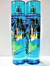 Bath Body Works MAUI HIBISCUS BEACH Fine Fragrance Mist, 8 oz, NEW x 2