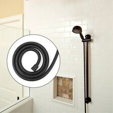 1.5m Black High Pressure Stainless Steel Flexible Shower Hose Pipe for Bathroom