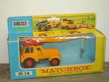 King Size Jumbo Crane - Matchbox King Size K-14 England in Box *34306