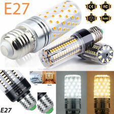 Nuevo E27 3.5W-18W SMD LED Luces maíz Bombilla Lámpara Luz Brillantes Alimentación DC 85V-265V