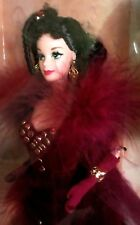 Barbie-Scarlett O'Hara-Gone With The Wind-Red Velvet Gown-NIB-Hollywood Legends