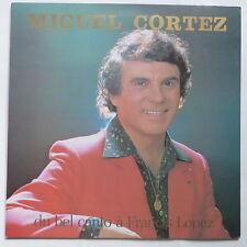 MIGUEL CORTEZ Du bel canto a Francis Lopez dédicacé derriere