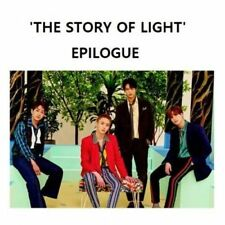 Shinee-[The Story Of Light Epilogue]Album CD+Booklet+Card+Free gift poster Idol