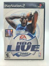 EA Sports NBA Live 2001 PlayStation 2 PS2 Game Complete With Manual TESTED