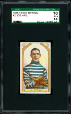 1911-12 C55 Imperial Tobacco #2 Joe Hall RC SGC 70 EX+ Hall of Fame Rookie Card