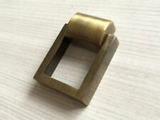 Bronze Dresser Drawer Pull Handles Kitchen Cabinet Handle Square Ring Drop Rings