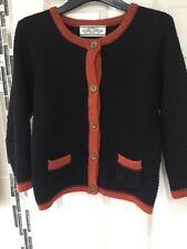 Ladies Black Jumper Cardigan Buttons Atmosphere Primark Uk Size 10