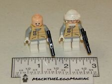 Authentic Lego Star Wars 7749 Echo Base Lot of 2 Hoth Rebel Troopers Only sw0252
