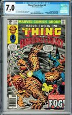 Marvel Two-In-One #69 CGC 7.0 (Nov 1980, Marvel) The Thing, Guardians of Galaxy