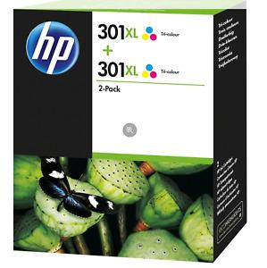 HP 301XL Tri-Colour - 2 Pack - D8J46AE
