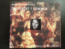 MARIANNE  ANTONSEN  - BLOMSTER I SOWETO , CD 1995 , NORWAY IMILONJI KANTU CHORAL